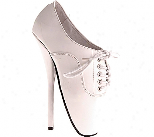 Deviating Ballet-18 (women's) - White Patent