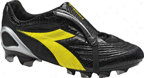 Diadora Kobra K Bx 14 (men's) - Black/yellow