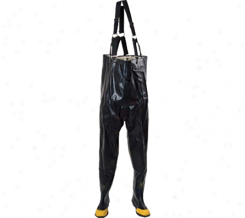 Diamond Rubber Products Plain Toe Chest High Waders 140 (men's) - Mourning