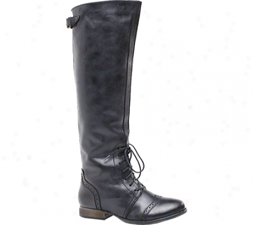 Diba Feri Ous (women's) - Black Leather