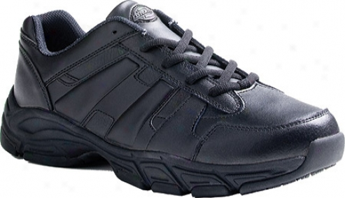 Dickies Athletic Lace (men's) - Black Smooth Leather