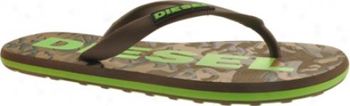 Diesel Crest (men's) - Bungee Cors/green Fluo