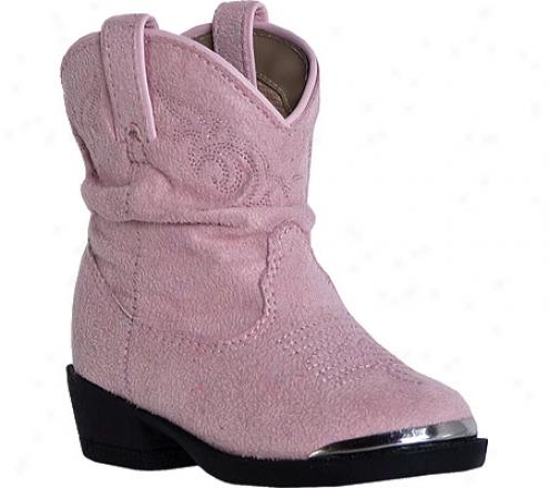 Dingo Jwmie Dic1078 (infant Girls') - Pink Suede Microfiber