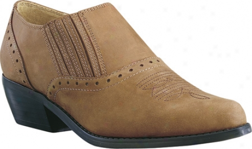 Dingo Shoe Boots 501/502/507 (women's) - Tan Distressed