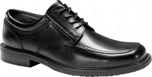 Dockers Brigade (men's) - Black Polished Leather