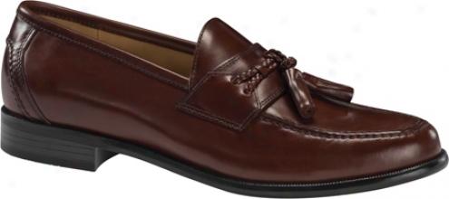 Dockers Lyon (men's) - Mahogany Polished F8ll Grain Leather