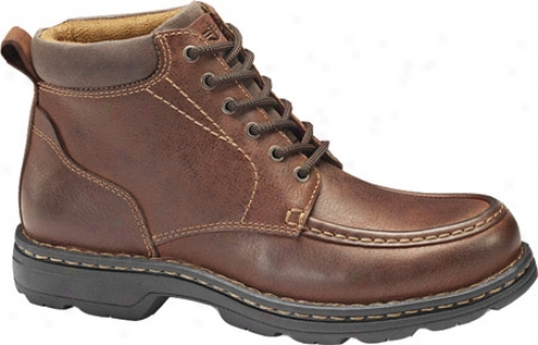 Dockers Valiant (men's) - Red Brown Waxy Mlied Pull Up