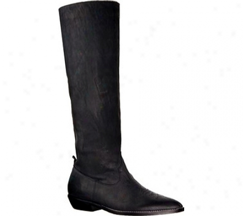 Donald J Pliner Magee-41 (women's) - Black Distdessed Nappa