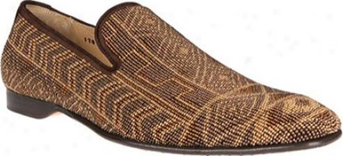 Donald J Pliner Pontsp-bdon (men's) -B ronze Beaded Carpet/expresso Oil Grain Nubuk