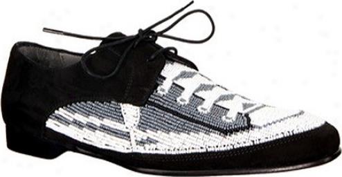 Donald J Pliner Pouch-se02 (women's) - Black/wjite/black Sneaker/suede