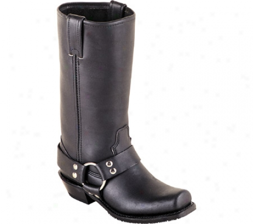 """double H 12"""" Harness Boot (women's) - Black"""