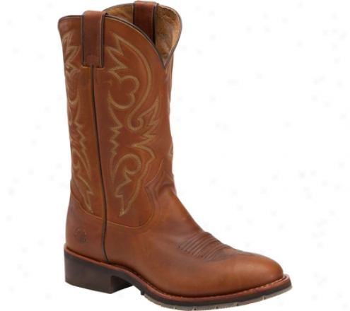 """double H 12"""" Steel Toe Work Western (men's) - Red"""