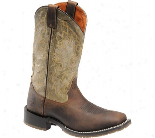 """""""double H 12"""""""" Wide Square Labor upon Western (men's) - Bay-tree Apache/herbs"""""""