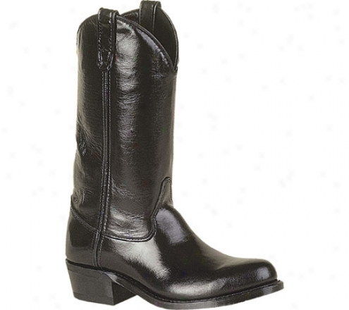 """double H 12"""" Work Western Mini Lug (men's) - Black"""