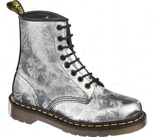 Dr. Martens 1460 8 Eye Boot (women's) - Silver Jewel