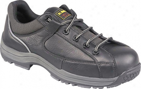 Dr. Martens 7a66a 5 Eye Shoe - Black Industrial Act
