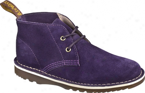 Dr. Martens Blythe 2 Eye Submissive Boot (women's) - Potent Purple Hi Suede Wp
