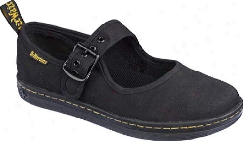 Dr. Martens Carnaby Mary Jane (women's) - Black Canvas
