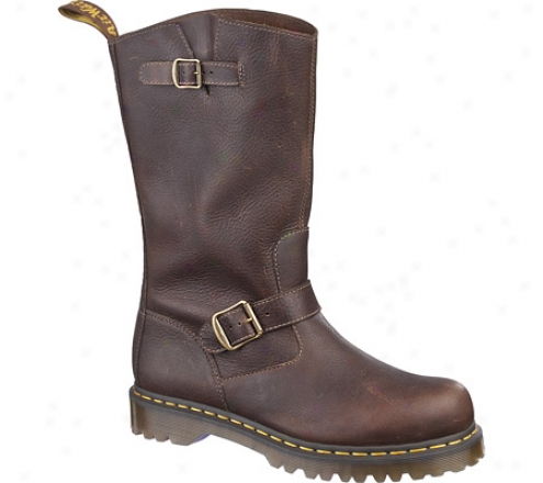 Dr. Ma5tens Case Engineer Boot - Brown Harvest