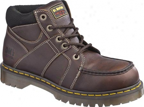 Dr. Martens Darby St 5 Eye Moc Toe Boot - Teak Industrial Bear
