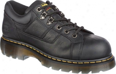 Dr. Martens Heritage Gunby St 6 Tie Lace To Toe Shoe - Black Industrial Grizzly