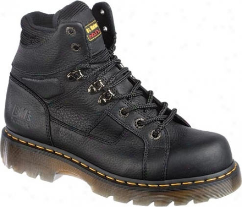 Dr. Martens Heritage Ironbridge Ns 8 Bond Lace To Toe Boot - Black Industrial Grizzly