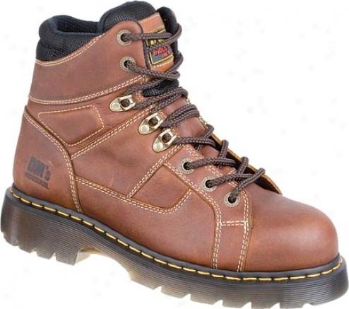 Dr. Martens Heritage Ironbridge St 8 Tie Lace To Toe Boot - Teak Industrial Trailblazer