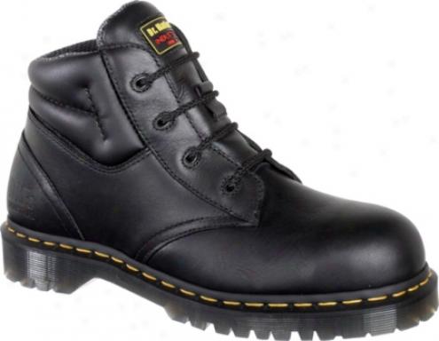 Dr. Martens Icon 4 Eye Boot (men's) - Black Industrial Bear/suede