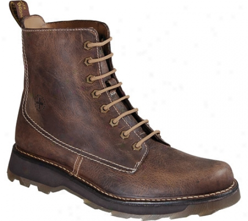 Dr. Martens Jasper 8 Eye Boot Greenland (men's) - Tan Greenland