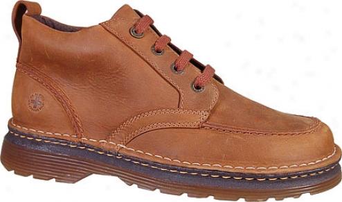 Dr. Martens Rob 4-eye Moc-toe Boot (men's) - Tan Wildhorse