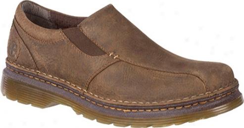 Dr. Martena Tevin Slip Attached Shoe (men's) - Dark Taupe iDrty Dog
