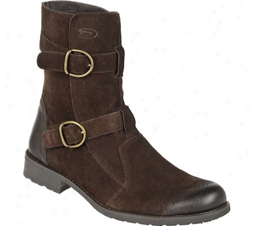 Dr. Scholl's Buckler (men's) - Oxford Brown Cow Suede Leather