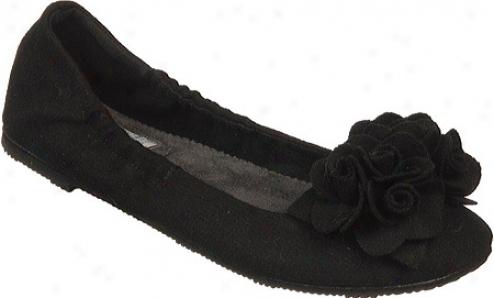 Dr. Scholl's Fionq (women's) - Black Wool Fabrjc