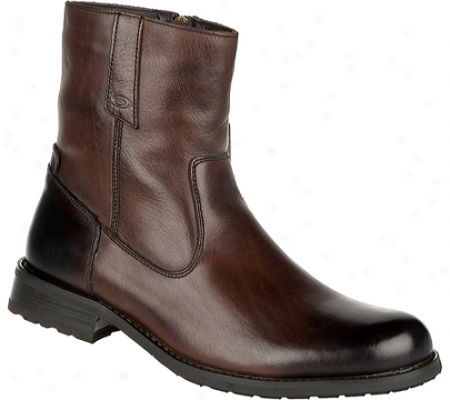 Dr. Schol's Landon (men's) - Tootsie Roll Brown Mirage Leather