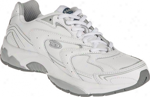 Dr. Scholl's Nita (women's) - White/grey Leather