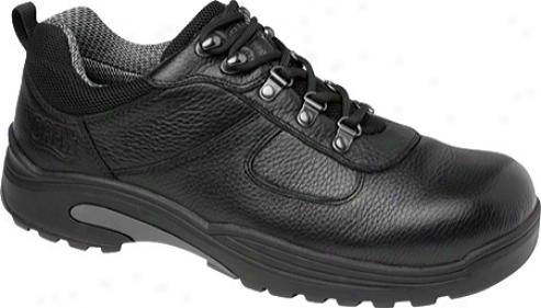 Drew Boulder (men's) - Black Tumbled Leather