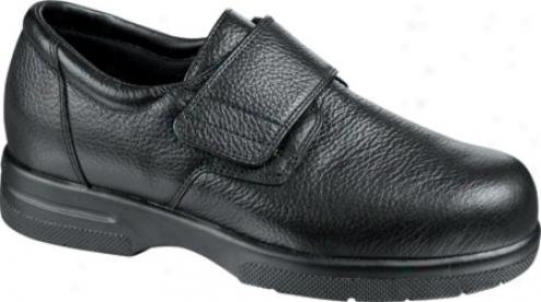 Drew Easy Ii (men's) - Negro Pebbled Leather