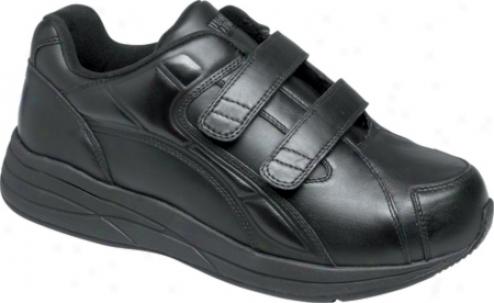 Drew Force V (men's) - Black Leather