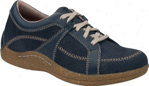 Drwe Geneva (women's) - Blue Denim Leather/nubuck
