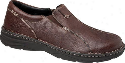 Drew Max (men's) - Brown Tumbled Leather