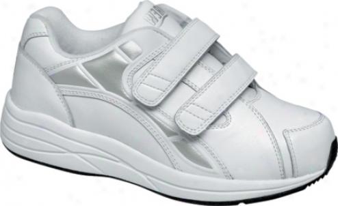 Drew Motion V (women's) - White Leather