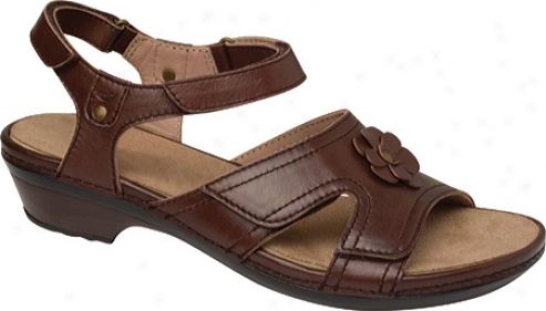 Drew Petal (women's) - Da5k Brown Full Grain Leather