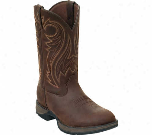"""durango Boot  Db5464 12"""" Rebel (men's) -  Chocolate Wyoming"""