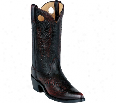 Durngo Boot Db585 12 (men's) - Mourning Cherry Brush Off Leather