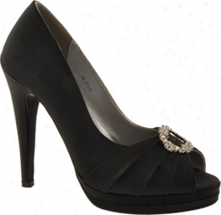 Dyeables Gianna (women's) - Black Satin