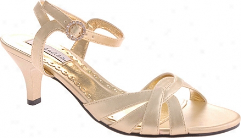 Dyewbles Gina (womsn's) - Gold Metallic