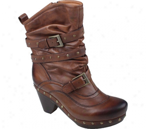 Earthies Fabienne (women's) - Almond Vintage Leather