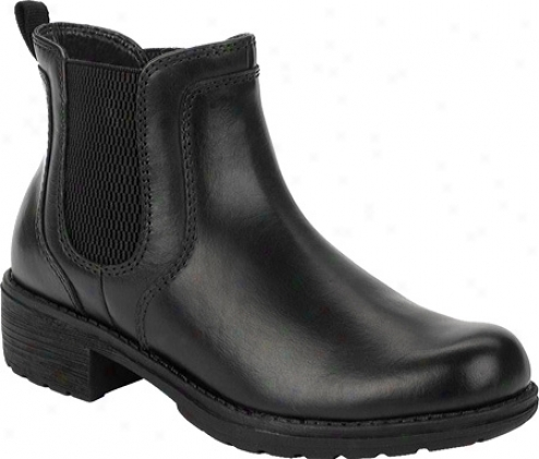 Eastland Double Up (women's) - Black Full Grain Leather