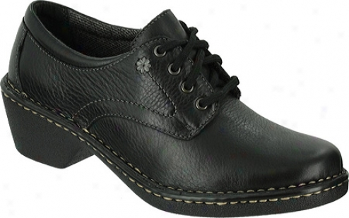 Eastland Foreside (women's) - Black Smooth Leather