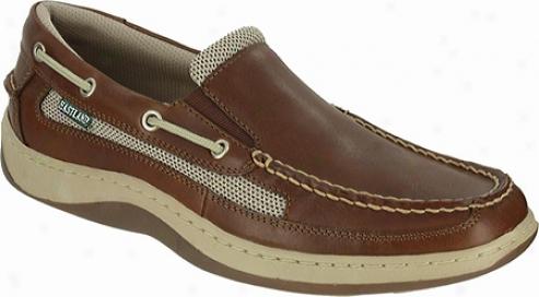 Eastland Tidewater (men's) - Peanut Full Grain Leather/nylon Mesh